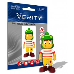 فلش مموری عروسکی8GB T203 VERITY
