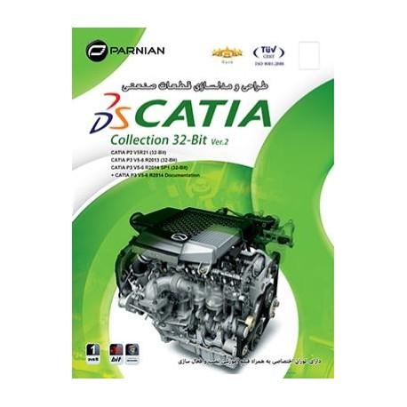 طـراحی و مـدلـسـازی قـطـعـات صـنـعـتـی Catia Collection 32-Bit