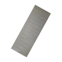 لیبل حروف سفید شیشه ای فارسی کیبورد
