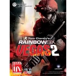 بازی کامپیوتر Tom Clancys Rainbow Six Vegas 2 |قیمت پشت جلد10500 تومان