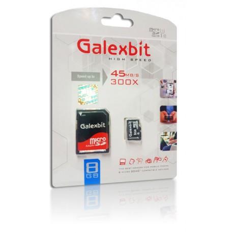 رم میکرو تک رنگ پکدار Galexbit 8GB