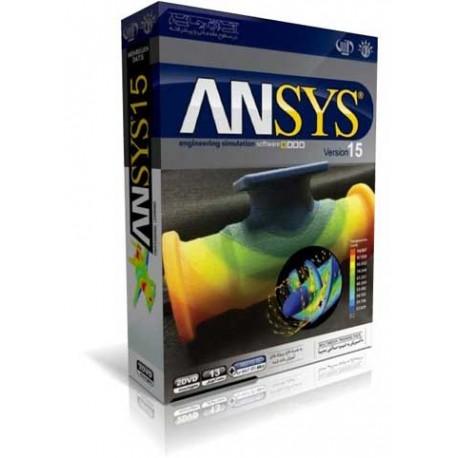 اموزش ANSYS -VER15 |قیمت پشت جلد 185000 ریال |2DVD