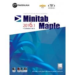 نرم افزار Minitab & Maple Collection 2016.1 (Ver.4) |قیمت پشت جلد 12500