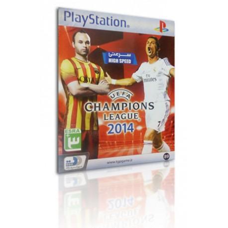 بازی UEFA CHAMPIONS League 2014 PS1
