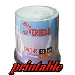 دي وي دي خام پرینت لیبل - OVERHEAD DVD
