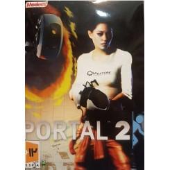 بازی کامپیوتر PorTal 2 |قیمت پشت جلد 18000 تومان