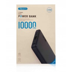 پاوربانک 10000MAH Verity مدل V-PU96