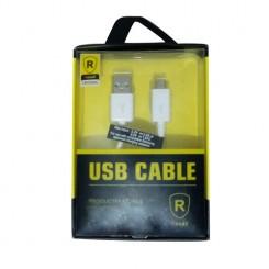 کابل تبدیل USB به microUSB مدلrexell