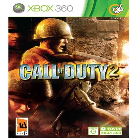 بازی Call Of Duty 2   XBOX 360