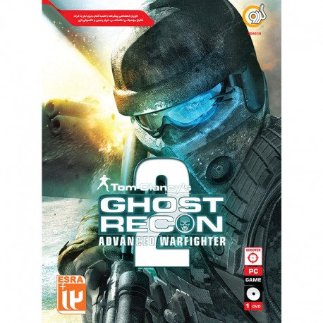 گردو TOM CLANCY GHOST RECON ADVANCED WARFIGHTER 2 1DVD