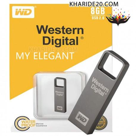 فلش 8GB Western Digital MY ELEGANT , نمایندگی وسترن دیجیتال , پخش محصولات وسترن دیجیتال , پخش Western Digital