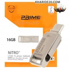 فلش Prime مدل 16GB Nitro TYPE-C