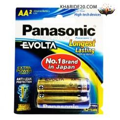 باتری قلمی 2 تایی Alkaline Evolta PANASONIC