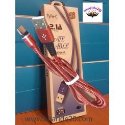 کابل ابریشمی فست شارژ A901 Micro طرح Date Cable