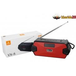 اسپیکر آنتن دار رادیو Kisonli بلوتوثی مدل VS-8