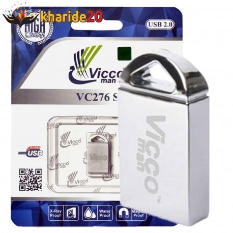 فلش مموری VICCO MAN VC276 SILVER 64GB U2
