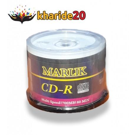 CD Marlik بسته 50 تايي سی دی خام مارلیک