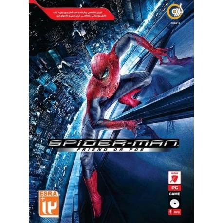 بازی کامپیوتر spider-man friend foe