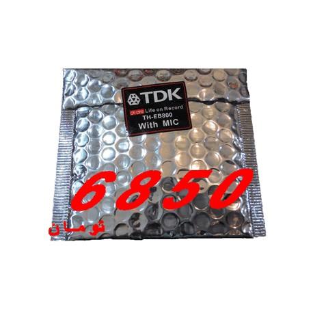 هدفن تدکا اورجینال TDK -800 با میکروفن