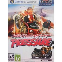 بازی مسابقات مهیج اتومبیلرانی کلاسیک PRESSURE حاوی 1 حلقه DVD