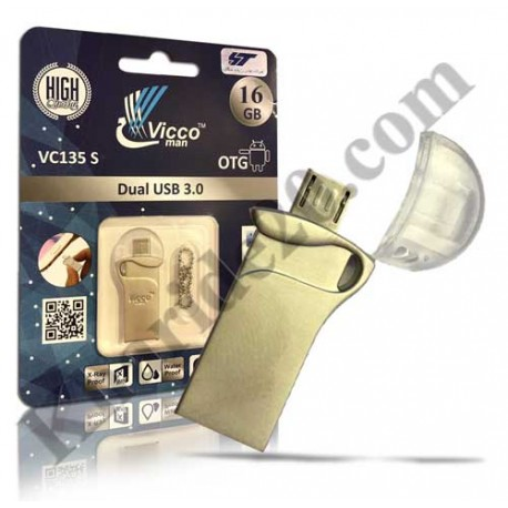 فلش مموری 16گیگ VIcco Man 135 S