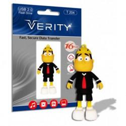 فلش مموری 16 گیگ وریتی عروسکی |VERITY 16GB T204