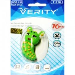 فلش مموری 16 گیگ وریتی عروسکی | FLASH MEMORY 16 GB VERITY T 216