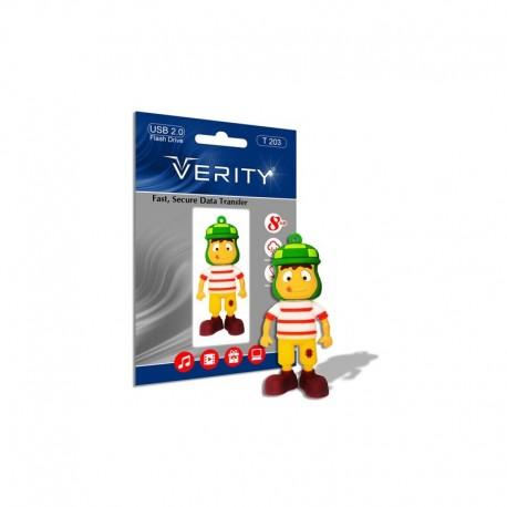 فلش مموری 16گیگ وریتی عروسکی|flashmemory verity16GB.T203