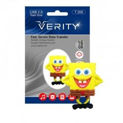 فلش مموری 16گیگ وریتی عروسکی | FLASH MEMORY VERITY 16 GB T209