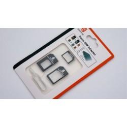 کارت تبدیل سیم کارت موبایل بسته 20 عددی | NANO SIM ADAPTER
