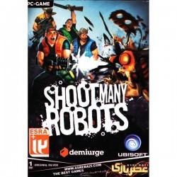 بازی کامپیوتر به روباتها شلیک کن | SHOOT MANY ROBOTS