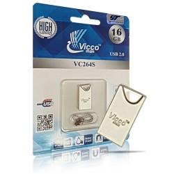 فلش مموری وایکو نقره ای VICCO264S 16GB