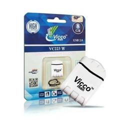 فلش مموری 8گیگ وایکو|VICCO223 WHITE 8GB
