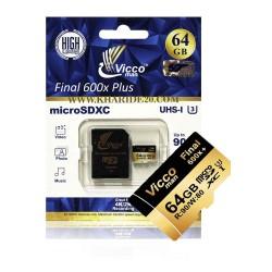 رم میکرو وایکو64گیگ|MICRO VICCO64GB/ 600x plus