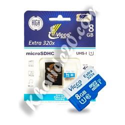 رم میکرو وایکو 8 گیگ320|microSD8GB VICCO MAN
