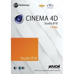 نرم افزار cinema 4D studio R 18