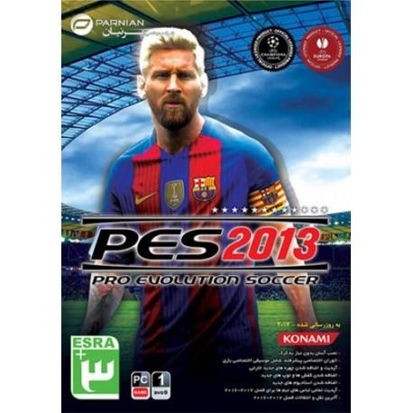 بازی کامپیوتر PES 2013