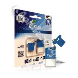 فلش مموری Vicco vc256 C 8GB