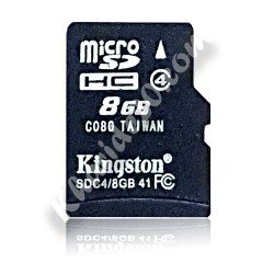 رم میکرو فله 8 گیگ کلاس 4 kingston