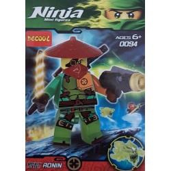 اسباب بازی ساختنی لگو (لگو ریز) مدل ninja mini figures no:0094