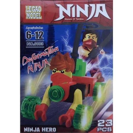 اسباب بازی ساختنی لگو (لگو هیرو ) مدل no:6008