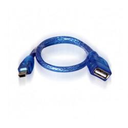 کابل تبدیل مادگی USB به ذوزنقه
