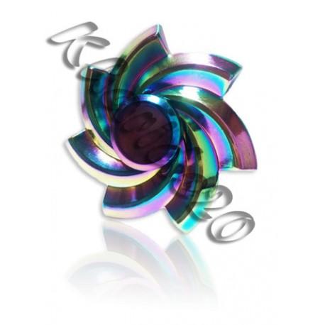 اسپینر طرح vortex هفت رنگ