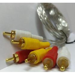 کابل 3 * 3 تصویر 1.5 متری مدل 306 ofc Cable AV