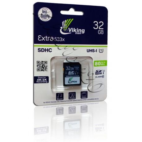 SDHC533X viking 32GB 80MB/s