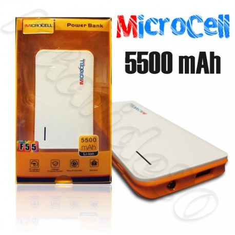 پاور بانک MicroCell 5500 mAh F55