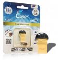 فلش مموری وایکو 16 گیگ | VICCO 125G 16GB /OTG GOLD