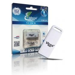 فلش مموری VICCO 230 White 8GB