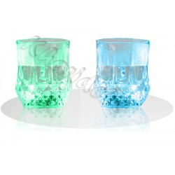 لیوان چراغدار جادویی با ال ای دی هفت رنگ