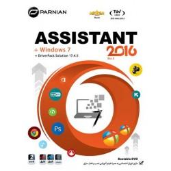 اسیستنت ASSISTANT 2016 به همراه ویندوز 7 و درایور پک |2DVD9 |قیمت پشت جلد 185000 ریال
